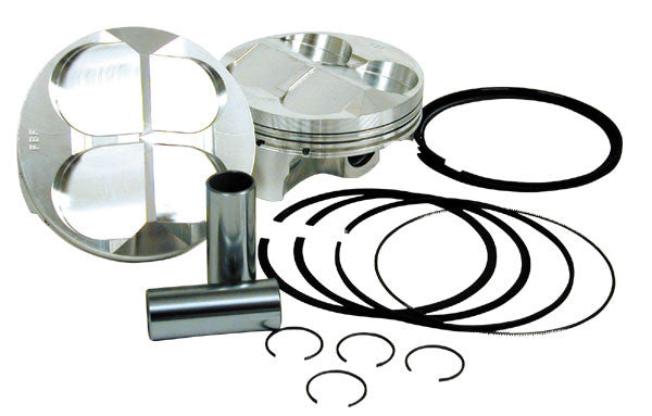 PISTON KIT - 98mm 1026 Stroker Ducati 4V code F27599S
