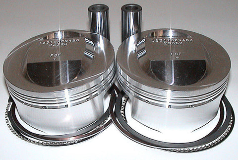 Ducati - PISTONS - Kit  of 2 pistons 94mm 1000DS 11.5;1  2V SKU F27564
