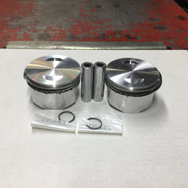 PISTON - DUCATI M 600 - 2004 & UP 80.00 MM  CR 11:1 DROP IN CODE F27525