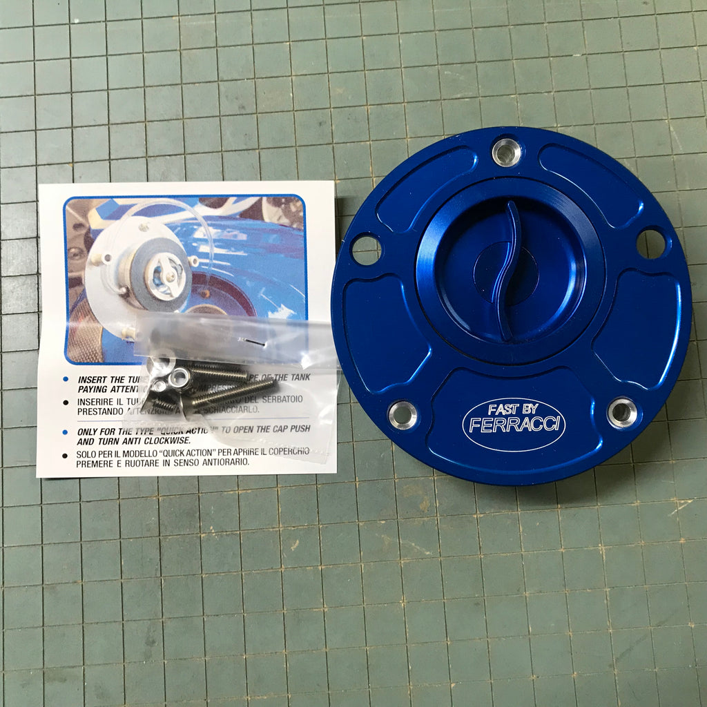 Fuel Cap - Yamaha Quick Action Color Blu code F88330B