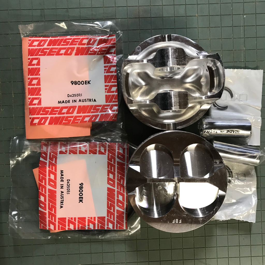 PISTON KIT - DUCATI 916/996/998 Stroke Piston 98 MM -21 mm pin - code F27598S