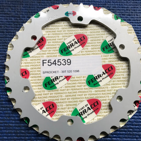Sprockets- For FBF Sprocket Carrier 5 Bolts Pattern code F54539/5b