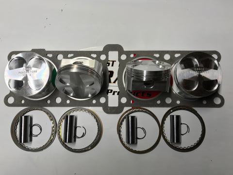 MV Agusta - Pistons Kit MV F4 750 cc and Brutale 750 cc To 800 cc big bore  code F27805X