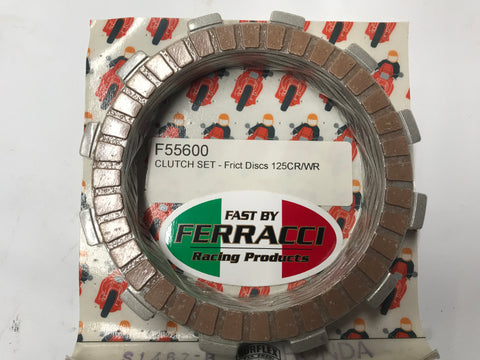 Husqvarna - clutch Friction Plate  Kit  CR & WR 125 cc fit all year F55600