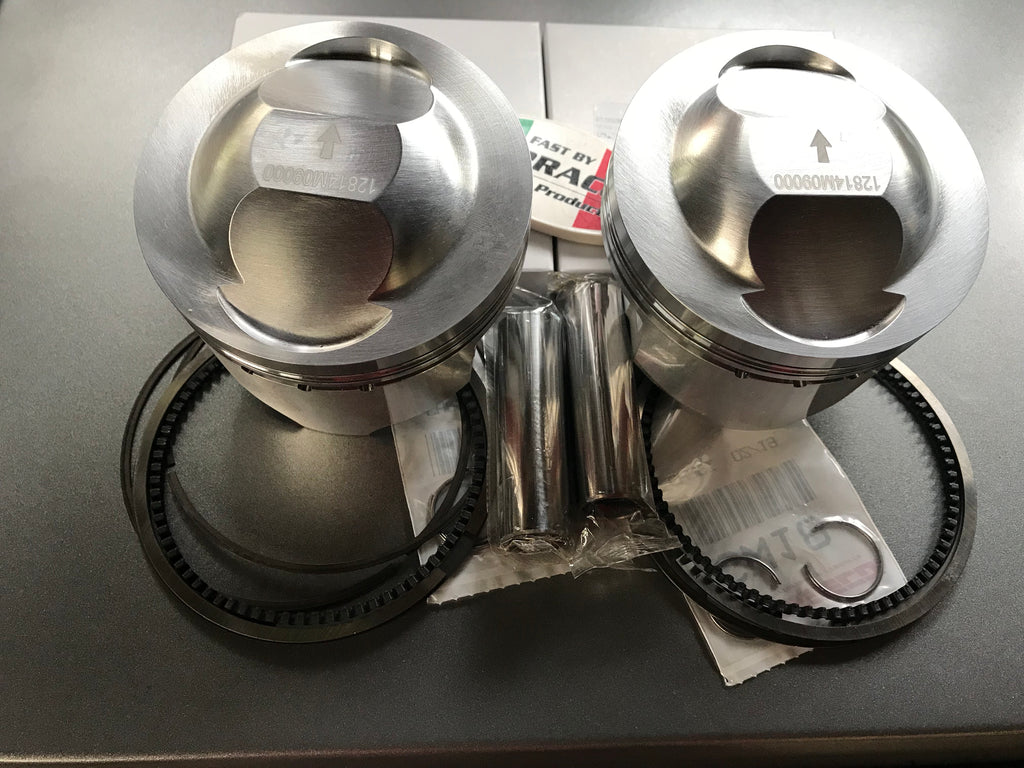 DUCATI - Pistons Kit 90.00 mm over size + 2.00 mm for 95/696 cc to 730 cc SKU F275696