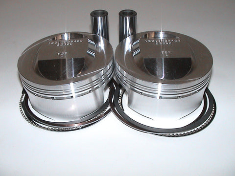 Ducati - PISTON KIT - 98mm 1100DS 12;1 CR 2V SKU F27562