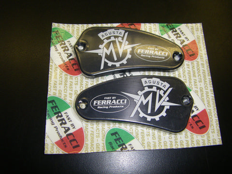 MV AGUSTA - Clutch & Brake Mast Cyl Cover Set -F4 & Brutale code F12800