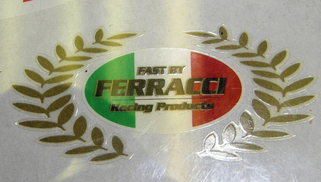 Sticker / Decal - FBF 75 x 40 mm Special Wreath code F87206