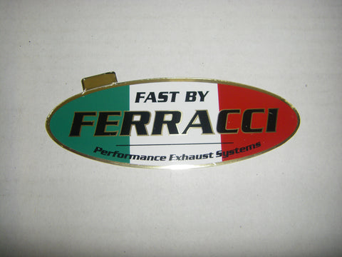 Sticker / Decal - FBF 115 x 45 mm Perform. Exhaust SKU F87015