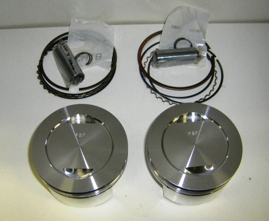 Ducati- PISTONS KIT - 86mm 11:1 675cc  2V M600 SKU F27505X