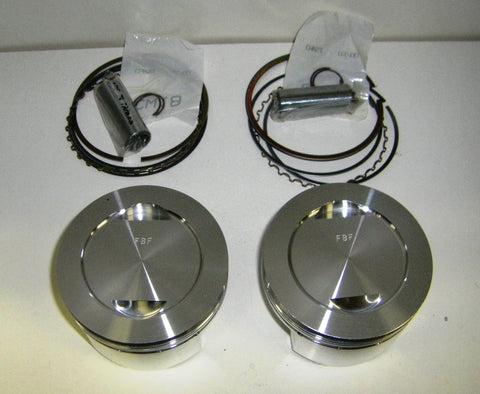 PISTON KIT - 86mm 11:1 675cc Ducati 2V M600 code F27505X