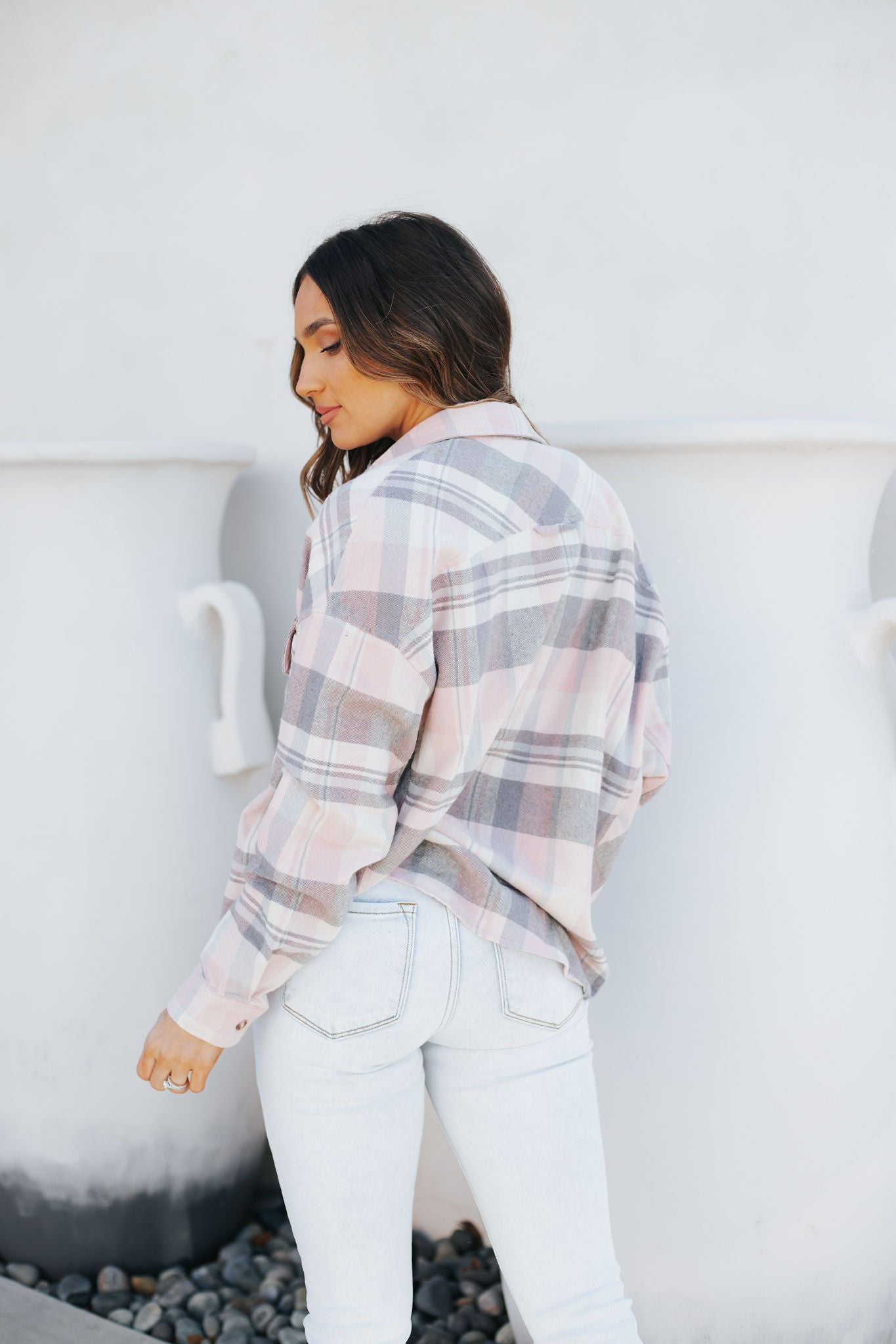 On The Pier Flannel Top