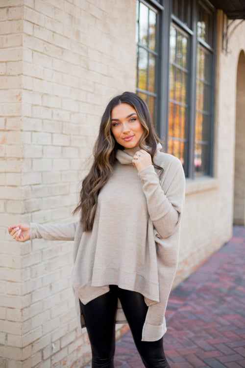 Fran Sweater Taupe