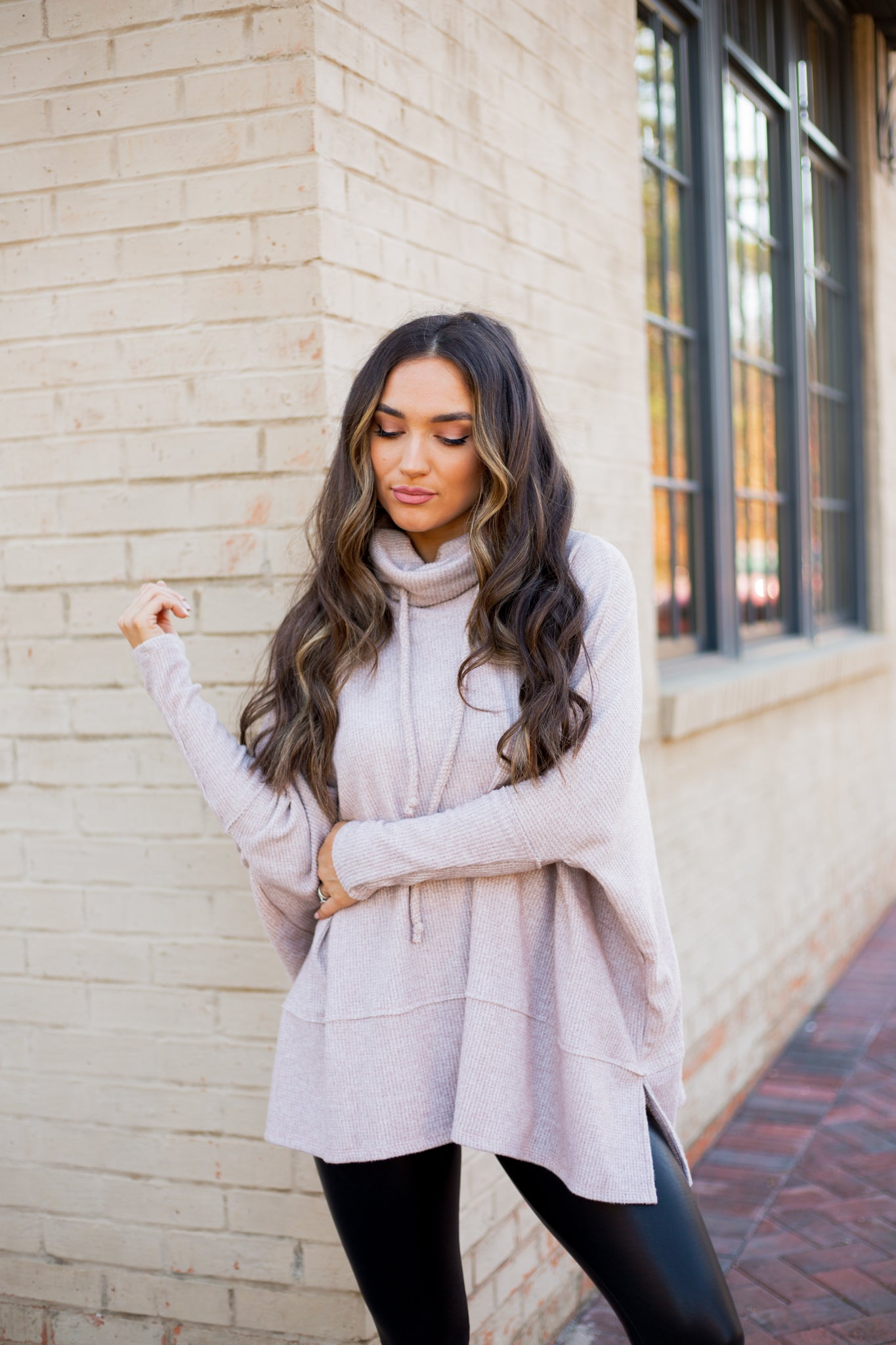 Aspen Sweater Taupe