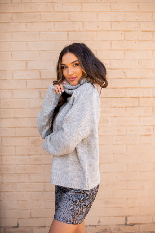 Shelby Sweater Grey