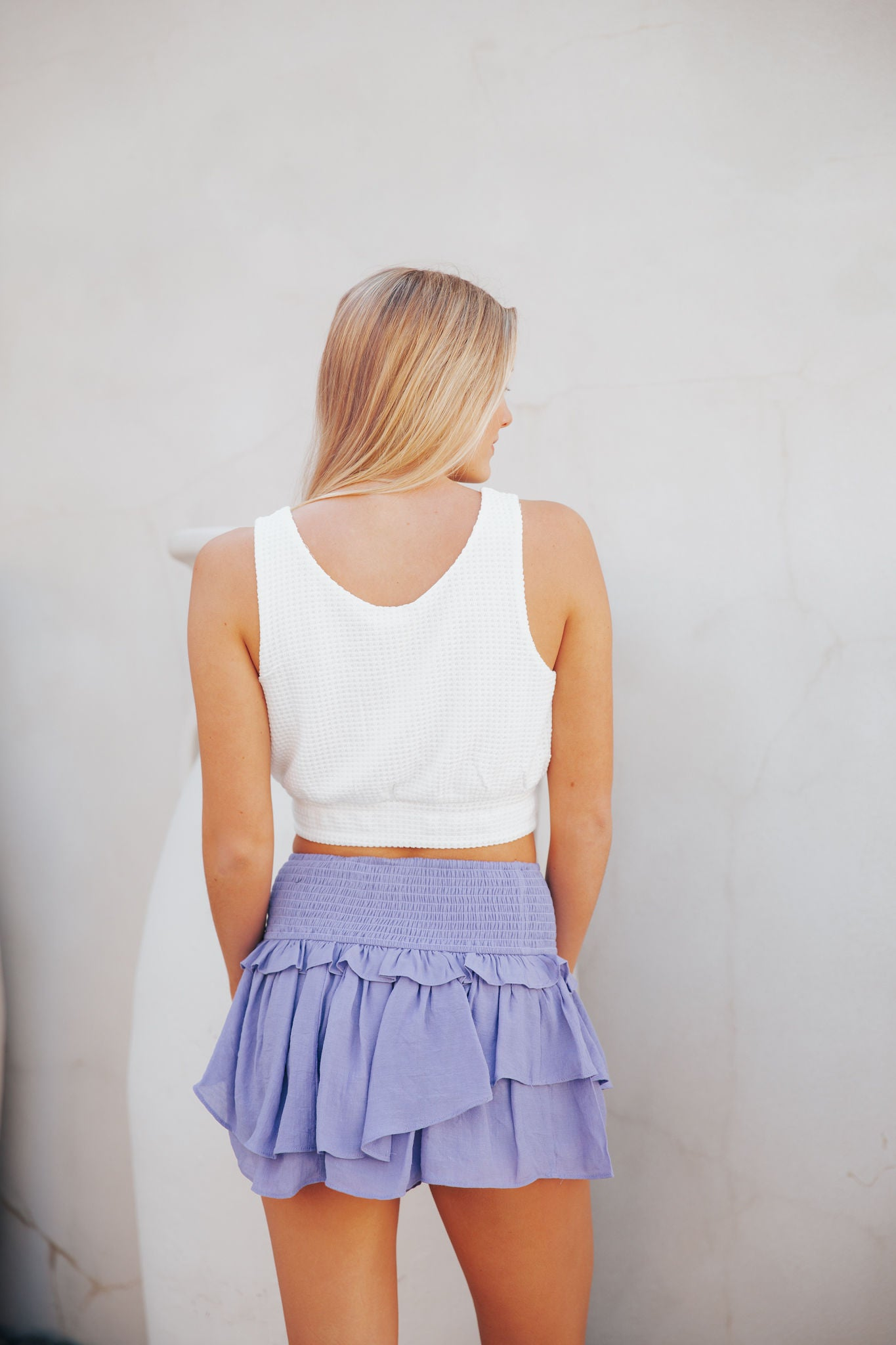 Add Some Flair Skirt- Lavender
