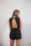 Del Ray Romper- Black