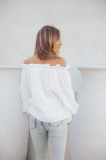 So Plush Top- White