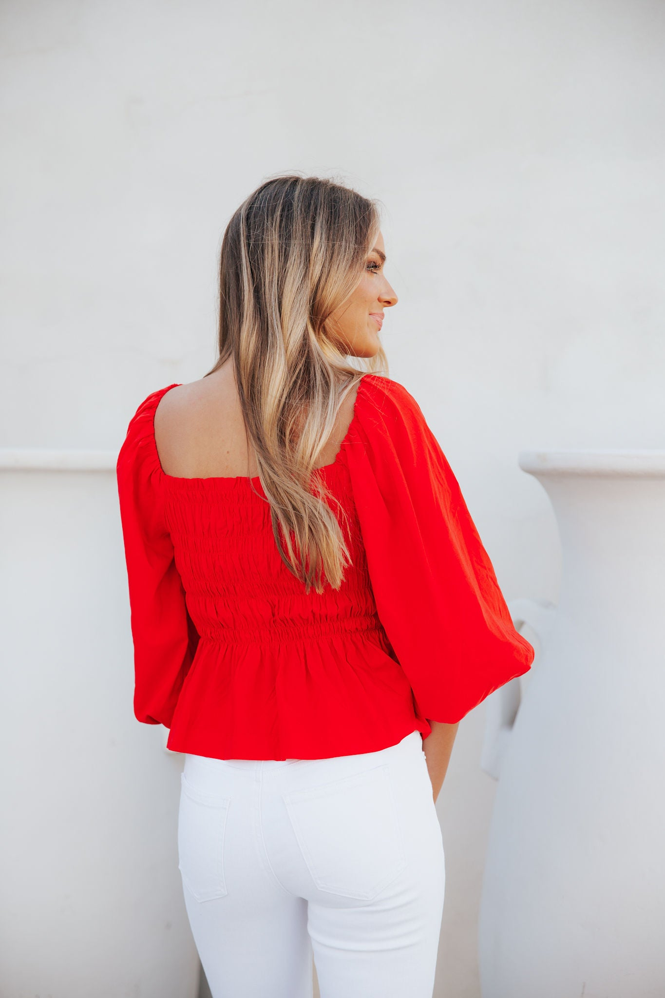 Kansas City Top- Red