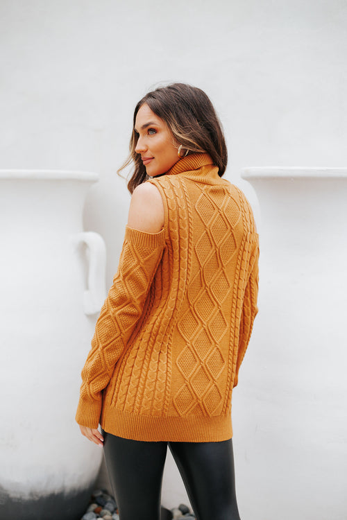 Willow Sweater Camel