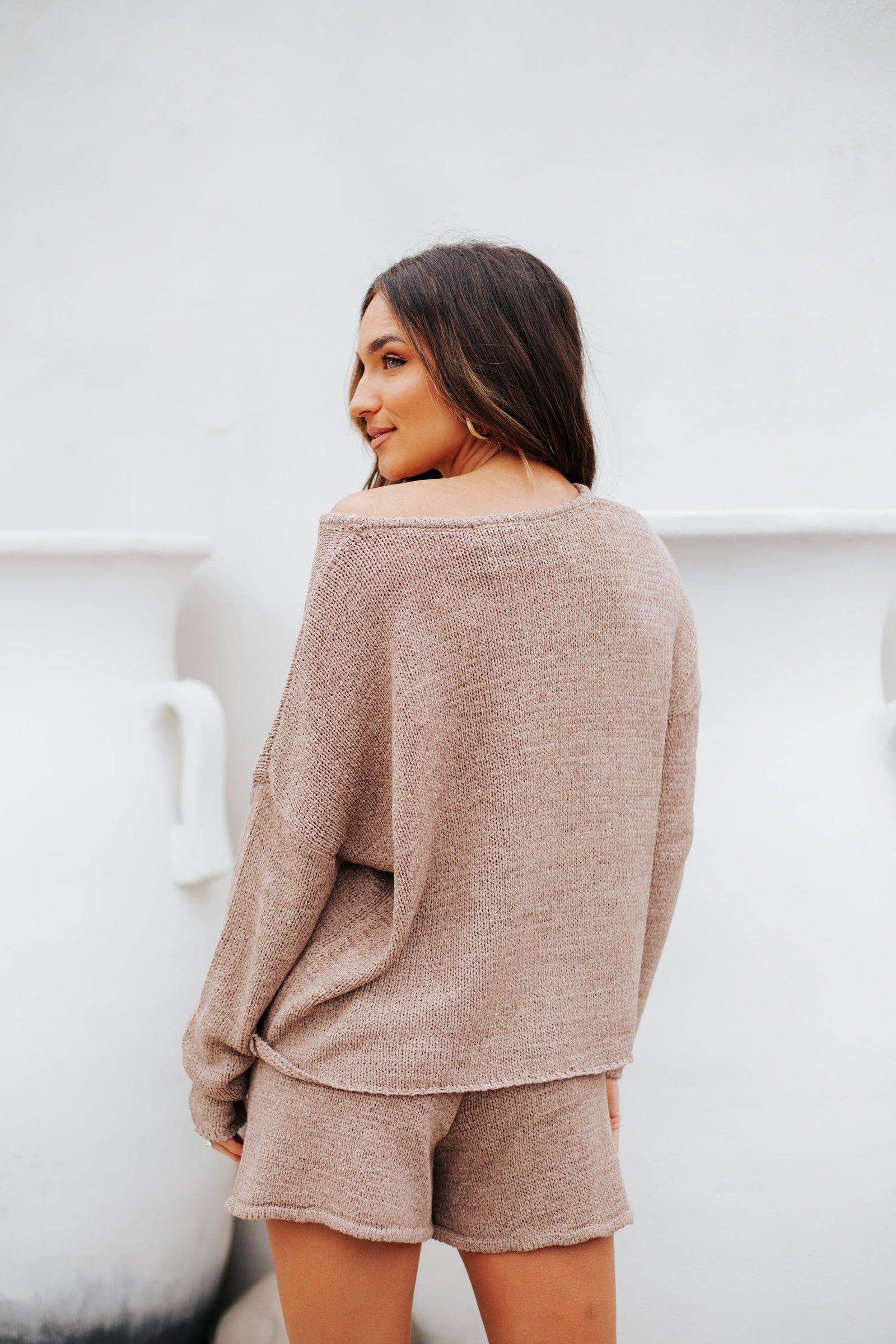 Staying In Sweater Mocha