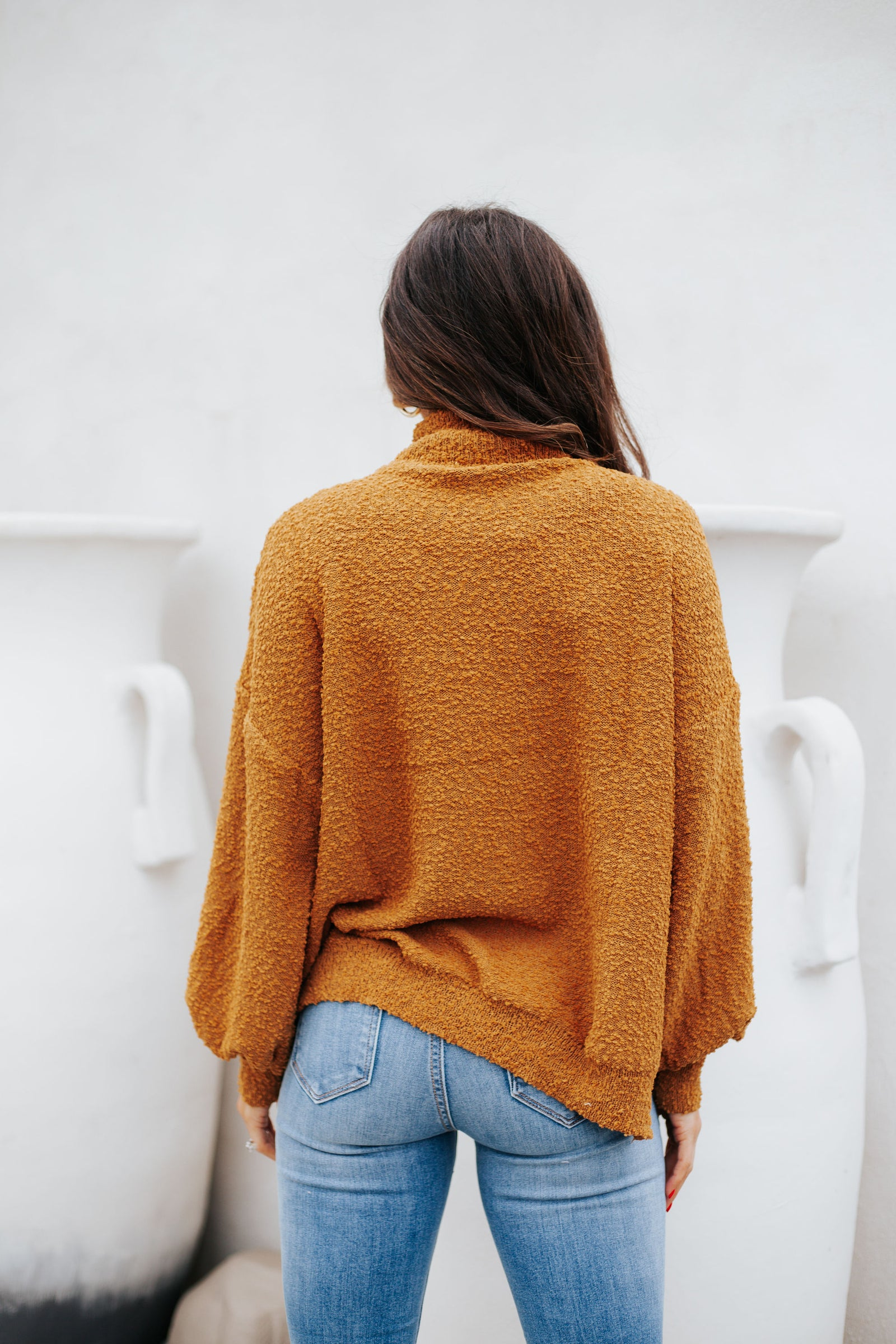 Road Trip Sweater Camel