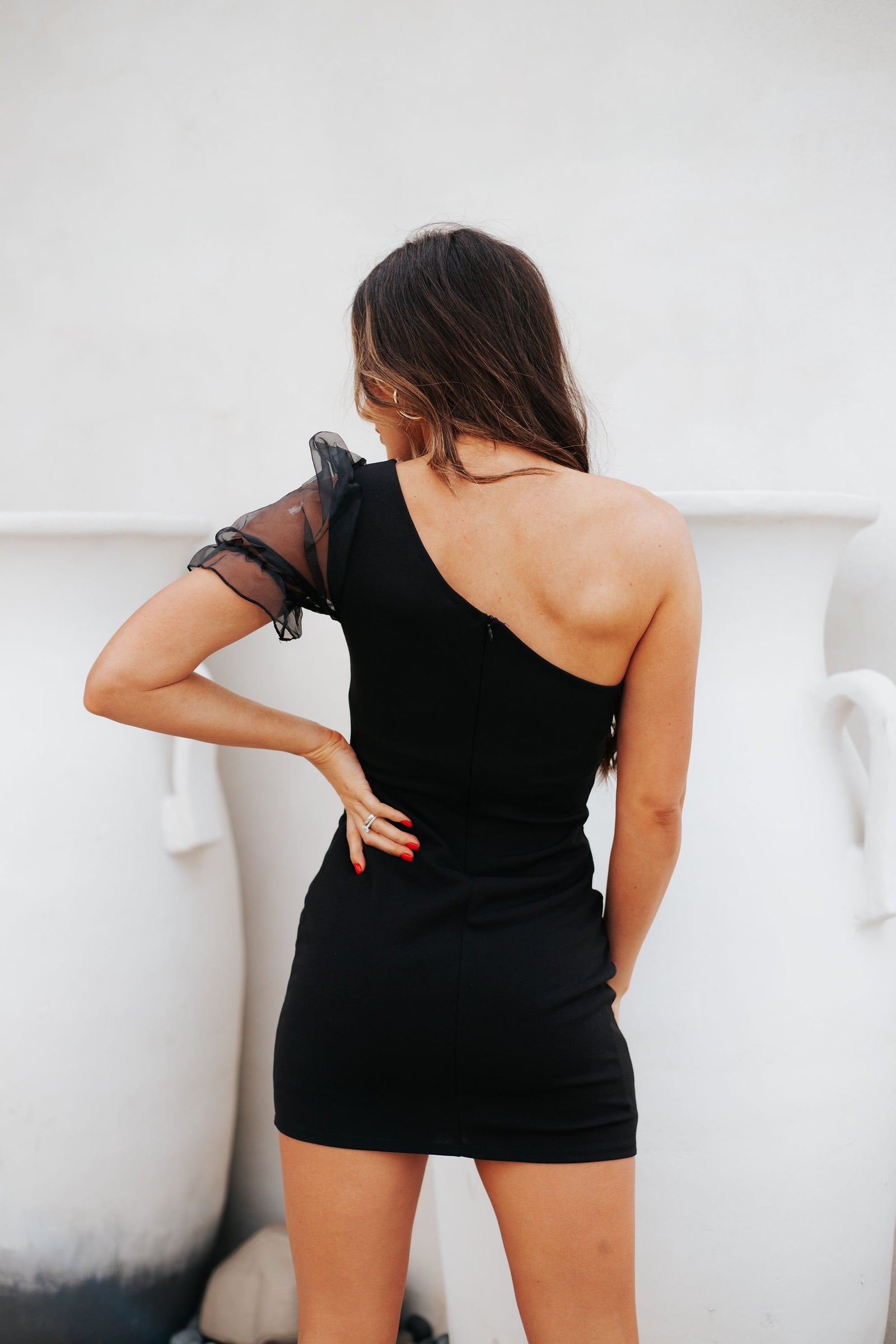 Date Night Dress Black