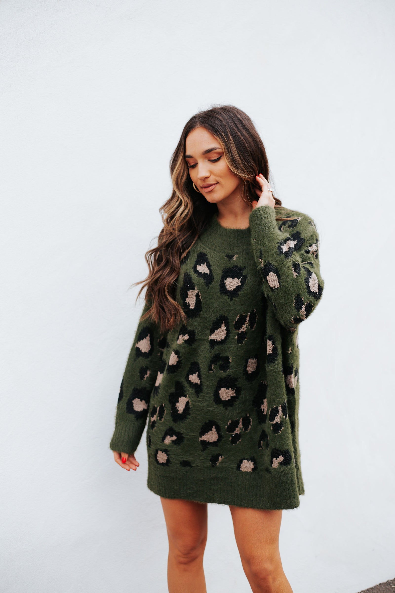 Charlie Tunic Army Green