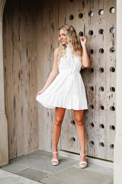 Dolly Mini Dress- White
