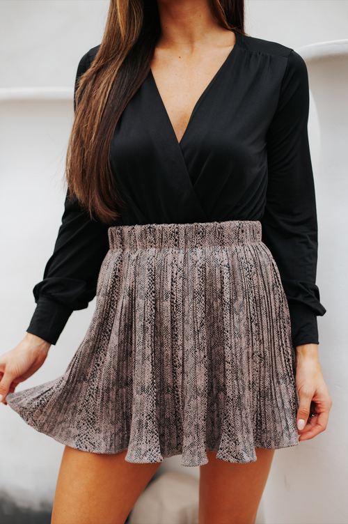 Claire Skirt Mocha