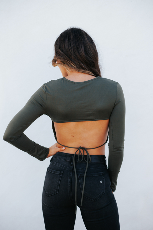 Bella Top Olive