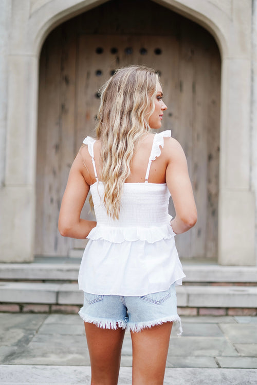 Beth Top- White