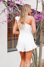 Isnt It Darling Romper-White