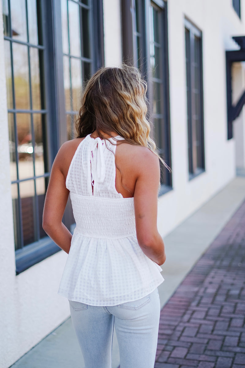 Summer Lovin' Top- White
