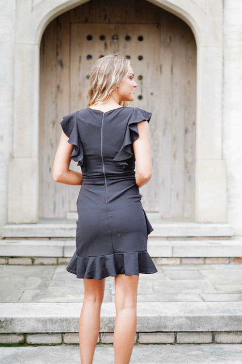 Andante Dress-Black