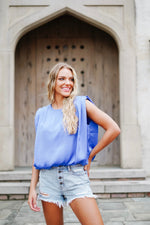 Amber Top - Blue