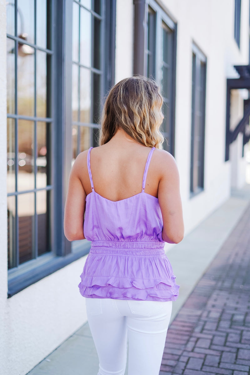 In Paradise Top- Purple