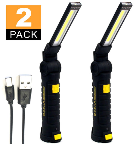 led rechargeable flashlight work light