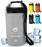 roll-top dry bag cooler