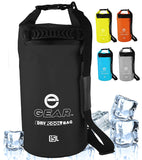 Enthusiast Gear Roll Top Insulated Backpack Cooler Dry Bag – Perfect for Kayaking Fishing Beach Hiking - 15L