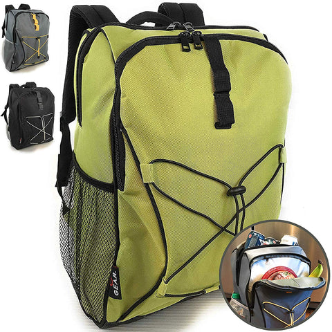 Enthusiast Gear Soft Lunch Backpack Cooler | Insulated Leakproof Lightweight - 20 Cans