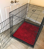 Dog Crate Mat - Red