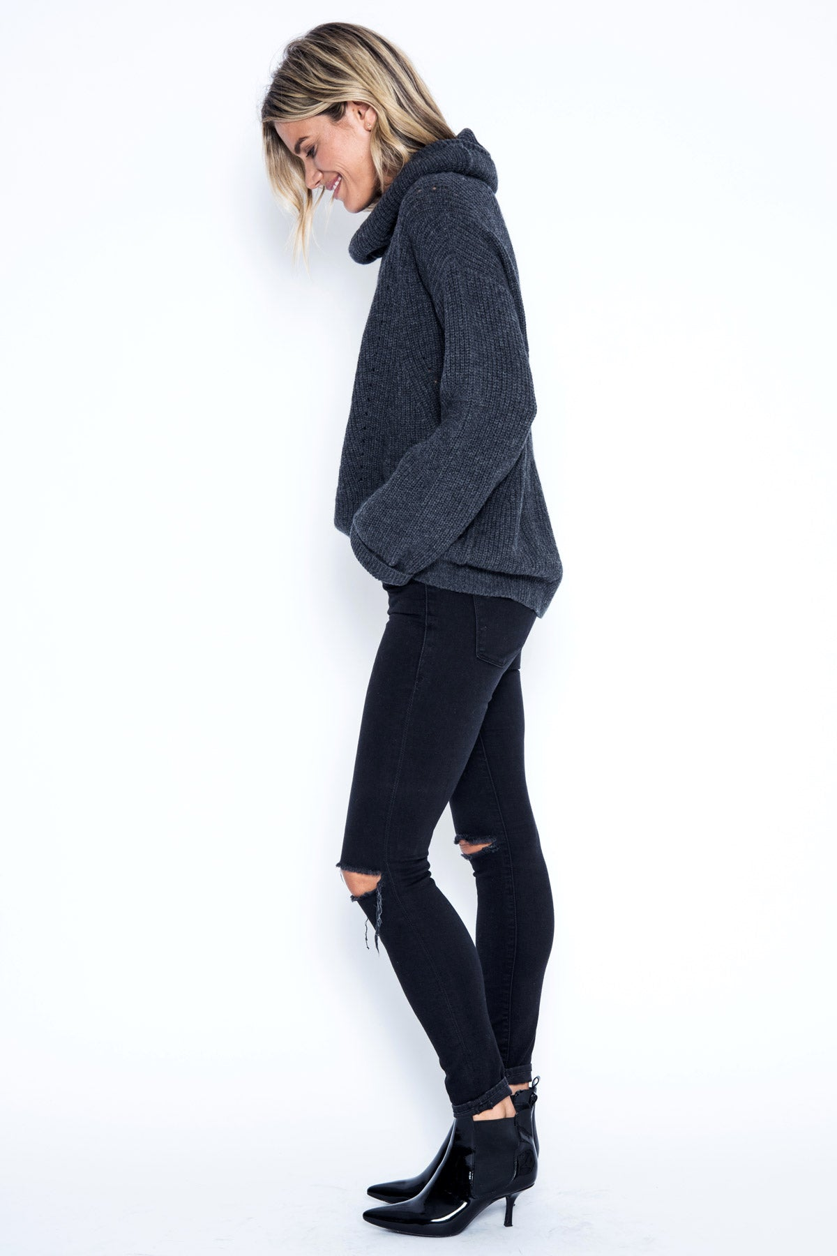 Arlo Pullover - Charcoal