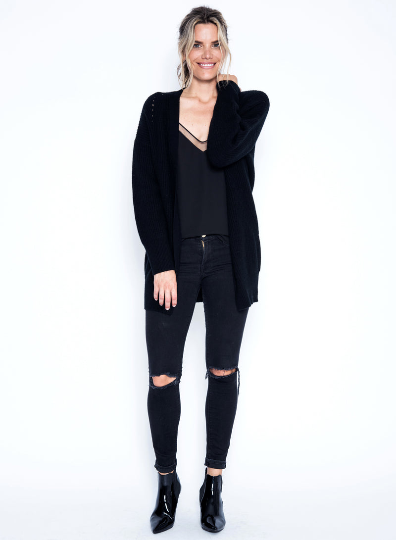 Arlo Cardigan - Black