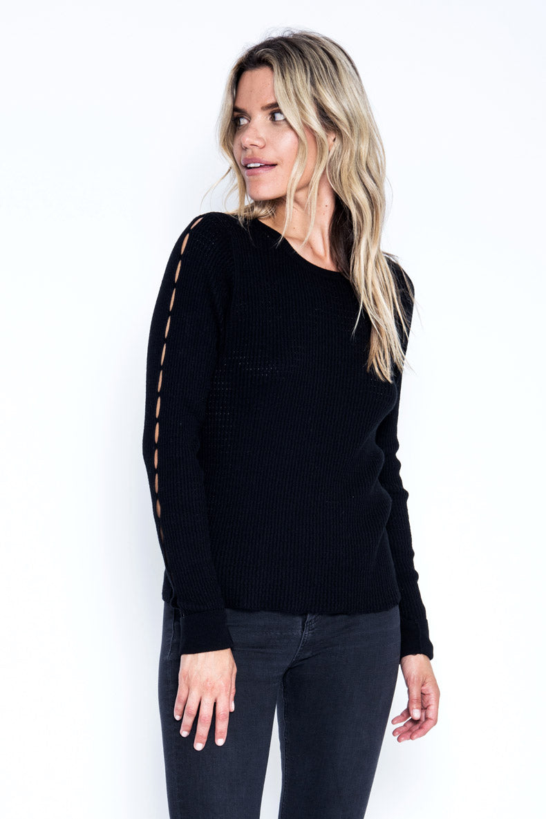 Owen L/S Top - Black