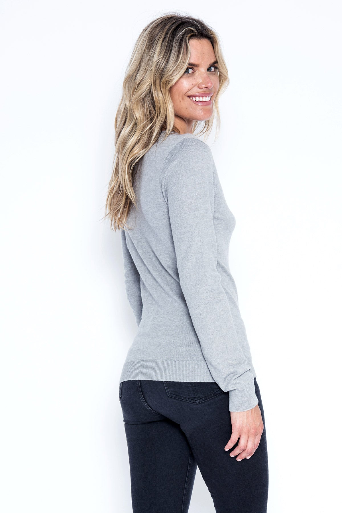 Pippa Top - Grey Goose