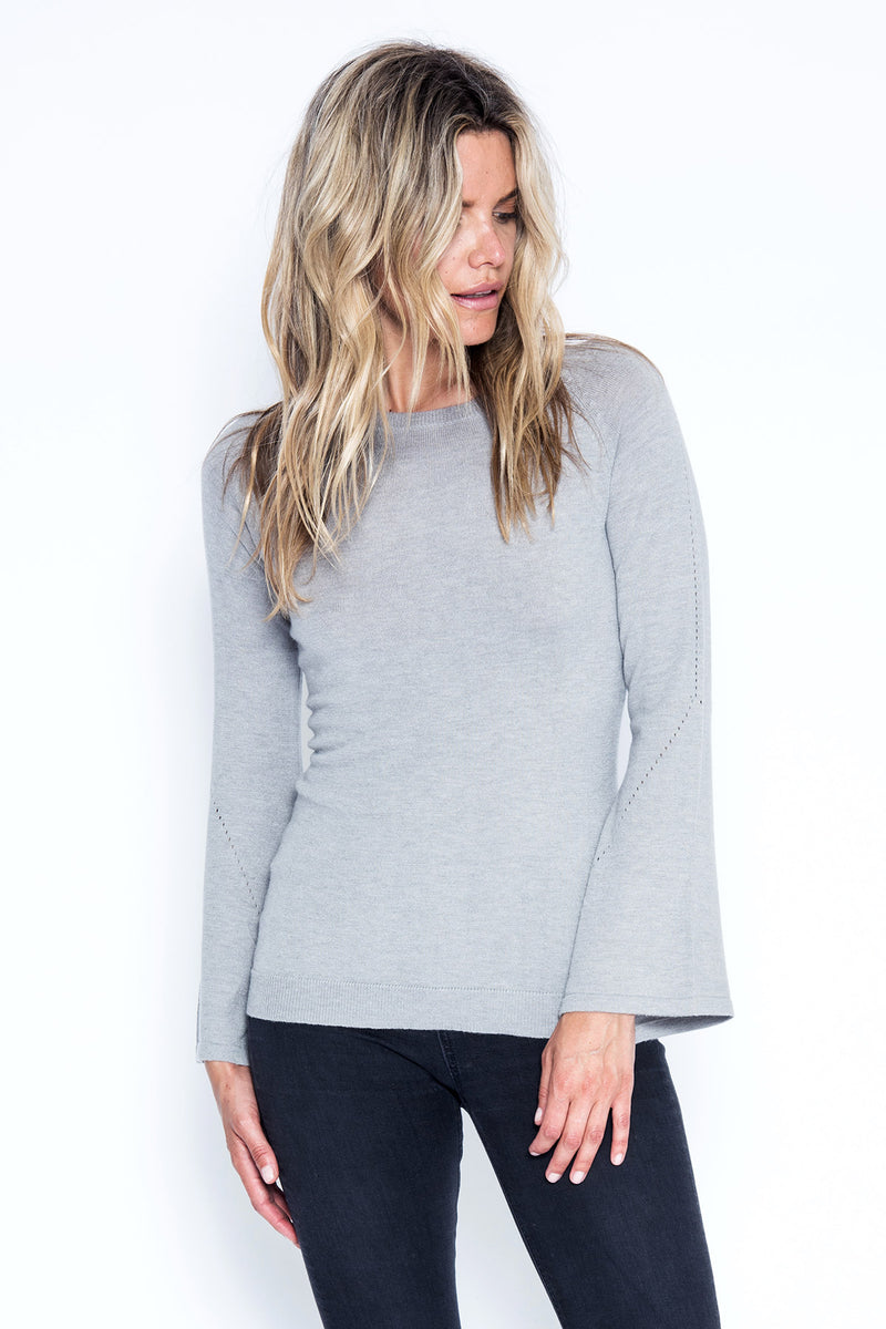 Marni Top - Grey Goose