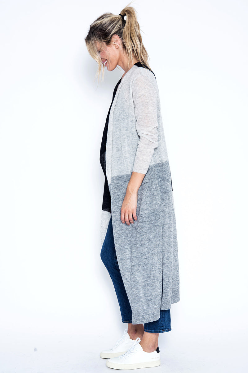 Charlotte Duster - Grey Combo
