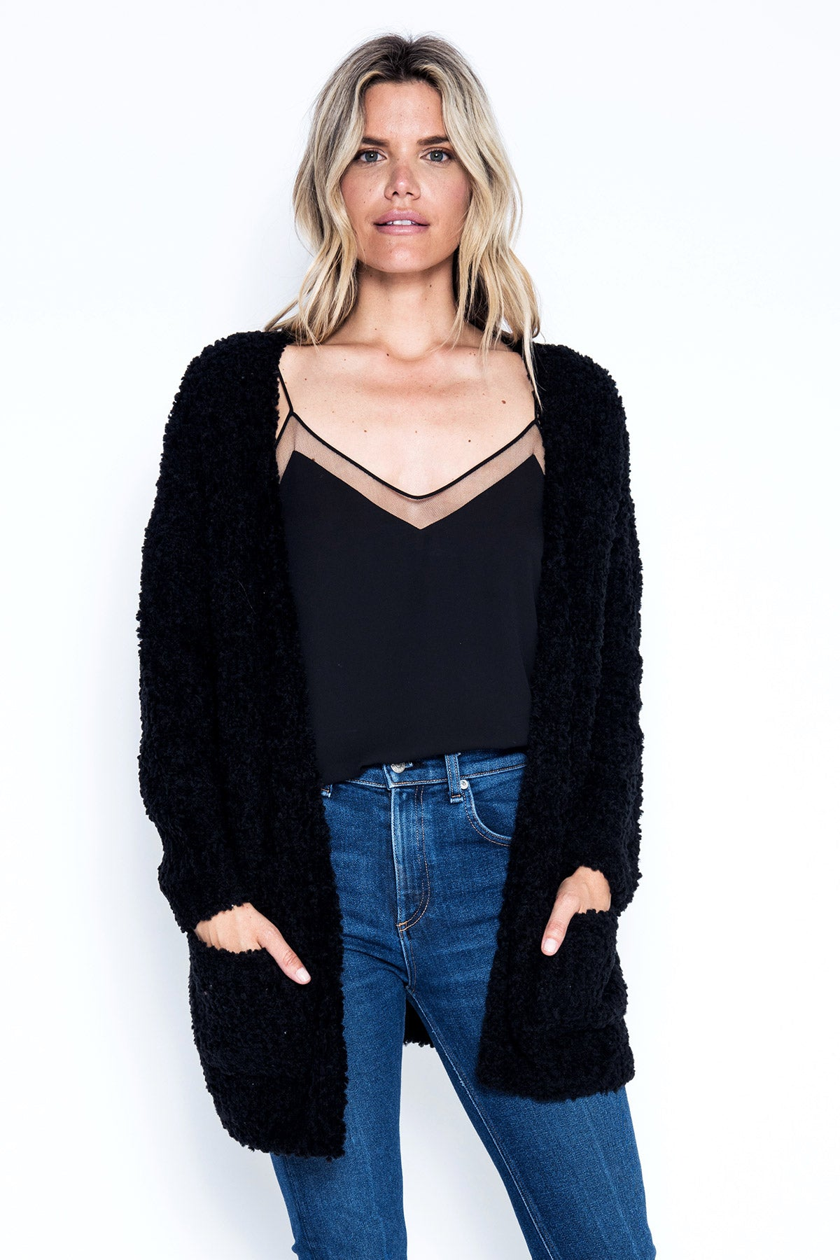 Cate Cardigan - Black