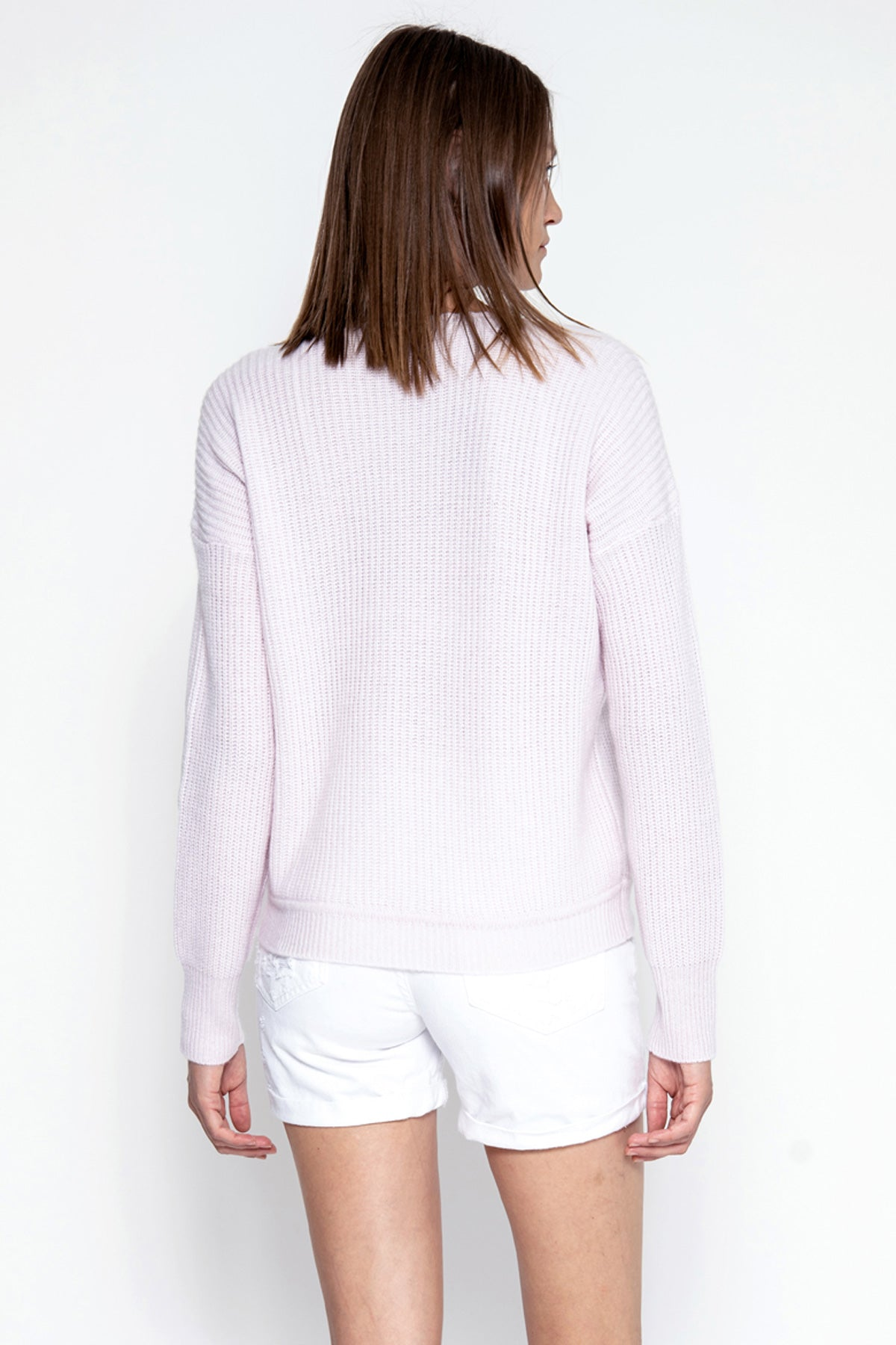 Margot Cashmere Pullover - Peony